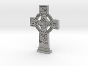 Gravestone Celticcross1 in Metallic Plastic