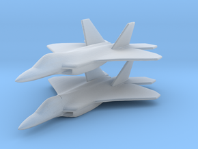 1/350 F-22 Raptor Fighter X 2 in Smooth Fine Detail Plastic
