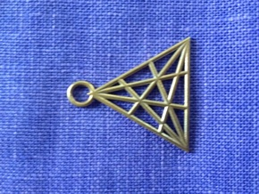 Triangle in Natural Bronze