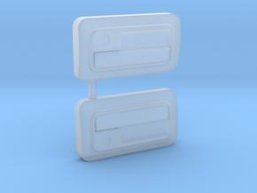 1/10 Pandora EF9 Civic Door Handles in Smooth Fine Detail Plastic