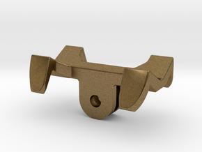 GoPro universal flashlight mount in Natural Bronze