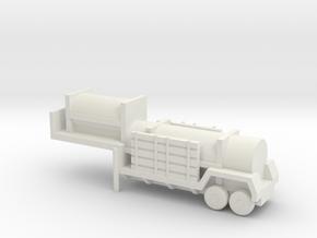1/200 Scale Sergeant Missile Trailer in White Natural Versatile Plastic