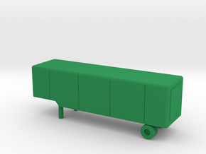 1/144 Scale M373 Trailer in Green Strong & Flexible Polished