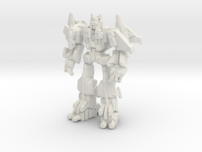 Superion (G1), 35mm Version in White Strong & Flexible