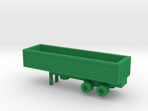 1/200 Scale M127 Trailer in Green Strong & Flexible Polished