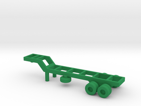 1/200 Scale M295 Trailer in Green Processed Versatile Plastic