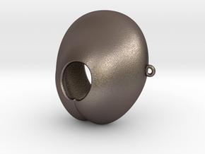 Electrosex Penis tip, E-Stim V4 Extra Large in Polished Bronzed Silver Steel