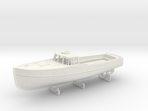 1/32 DKM 11m Launch in White Natural Versatile Plastic