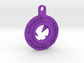 best mom key chain  in Purple Strong & Flexible Polished