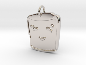 S'more of You in Rhodium Plated Brass