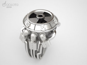 STALKER-Ring (Common God ring) in Stainless Steel: 10 / 61.5