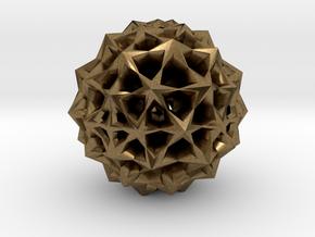 Star Bloom Uncut in Natural Bronze