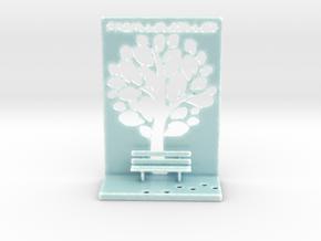The Parallelkeller book rest in Gloss Celadon Green Porcelain