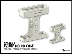 EzUHF v4 mount case in White Natural Versatile Plastic
