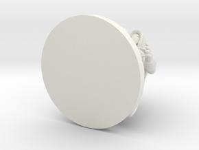 D&D_Min_Rogue in White Natural Versatile Plastic
