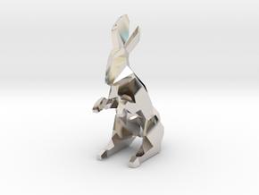 Mann-Rider (Queen) - [1,0/1,1] Black Warren in Rhodium Plated Brass