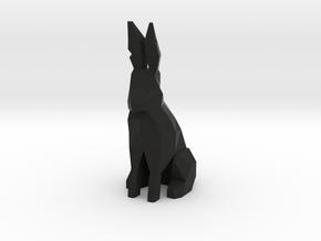 Pawn - F[1,0M/1,1C] Black Warren in Black Natural Versatile Plastic
