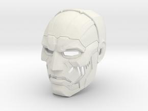Dr Doom helmet Fantastic Four: Rise of the Silver  in White Natural Versatile Plastic