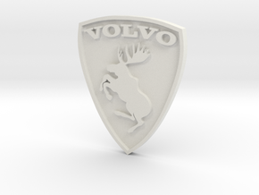 Volvo moose logo (aka Ferrari killer) in White Strong & Flexible