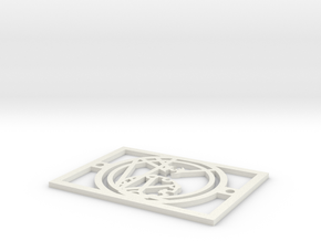Gallifreyan Light Plate - Nutritious Food in White Strong & Flexible