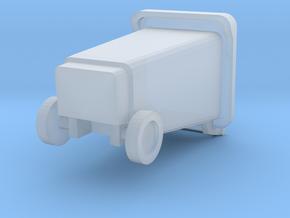 1 /43 Poubelle / wheelie bin in Smooth Fine Detail Plastic