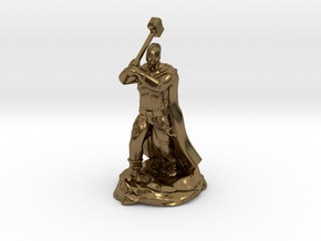 Mohawk Half Giant With Maul in Polished Bronze