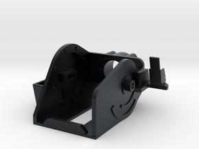 MG151 Gun Mount 1:10 in Black Hi-Def Acrylate