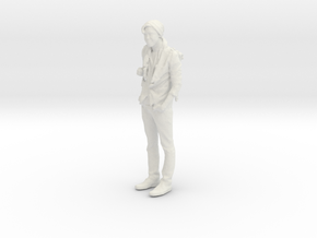 Printle C Homme 014 - 1/35 - wob in White Strong & Flexible
