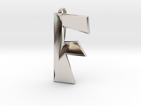 Distorted letter F in Platinum