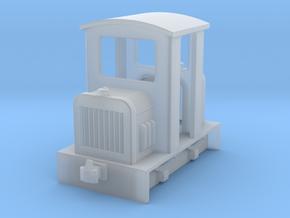 HOf diesel loco 3 in Smooth Fine Detail Plastic