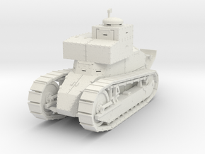 PV167A Renault FT TSF (28mm) in White Natural Versatile Plastic