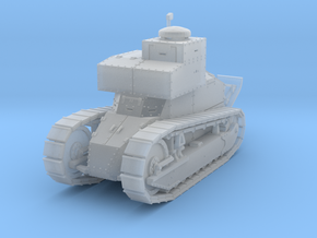 PV167C Renault FT TSF (1/87) in Smooth Fine Detail Plastic