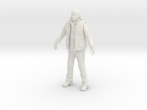 1/24 Spectator Winter Outfit in White Natural Versatile Plastic