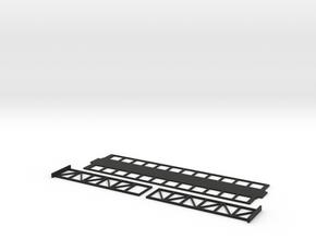 Signalbruecke N 1:160 in Black Natural Versatile Plastic