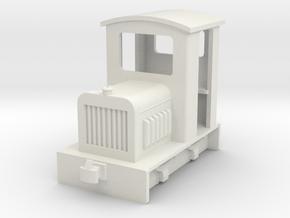 HOf Diesel loco 1 in White Natural Versatile Plastic