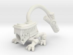 Assault'n Battery (MOGITE) in White Strong & Flexible