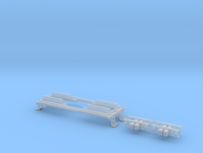 N scale CNJ 1000 Frame Upgrade in Frosted Ultra Detail