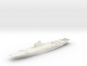 HMS Illustrious in White Strong & Flexible