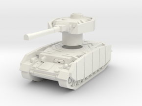 Pz IV ausf.J with Rotatable turret in White Strong & Flexible