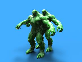 Abomination marvel (x2)  in Smooth Fine Detail Plastic: 1:72