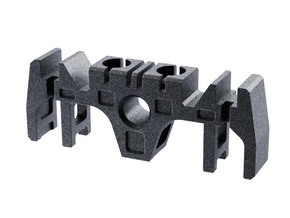MPP 2.0 Clamp Sw Holder without suspension tabs in Black Natural Versatile Plastic