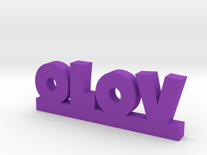 OLOV Lucky in Purple Processed Versatile Plastic
