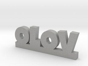 OLOV Lucky in Aluminum