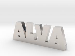 ALVA Lucky in Rhodium Plated Brass