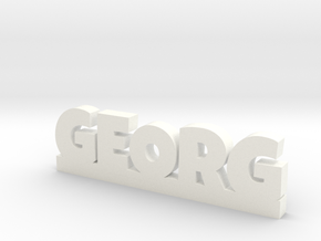 GEORG Lucky in White Processed Versatile Plastic