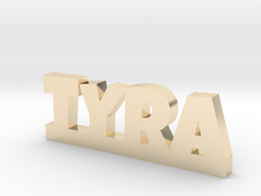 TYRA Lucky in 14k Gold Plated Brass