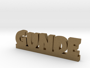 GUNDE Lucky in Natural Bronze