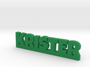 KRISTER Lucky in Green Strong & Flexible Polished