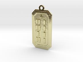 OGBETUMAKO in 18k Gold Plated