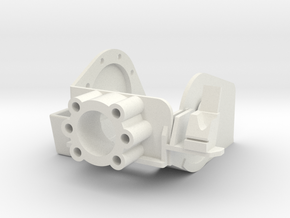 MG151 Gun Mount 1:6  in White Natural Versatile Plastic